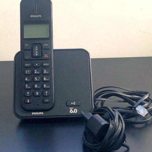 Telefone philips (dect 6.0)