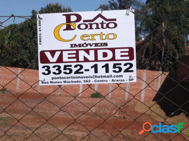 Terreno - Venda - Araras - SP - Colina Verde