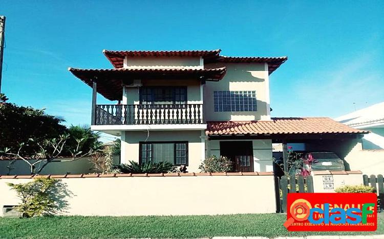 Casa duplex 3 qts (2 suites) em condomínio praia seca araruama rj