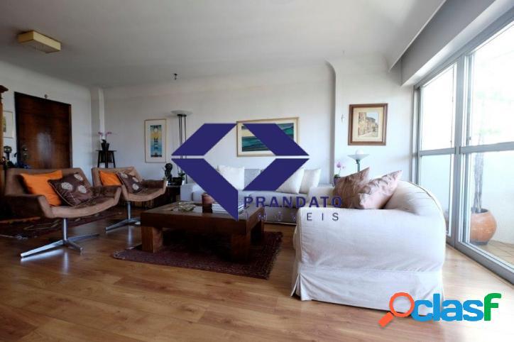 Apartamento com 4 dormitórios sendo 1 suíte á venda, 147 m² por R$ 1.300.000 Moema Pássaros