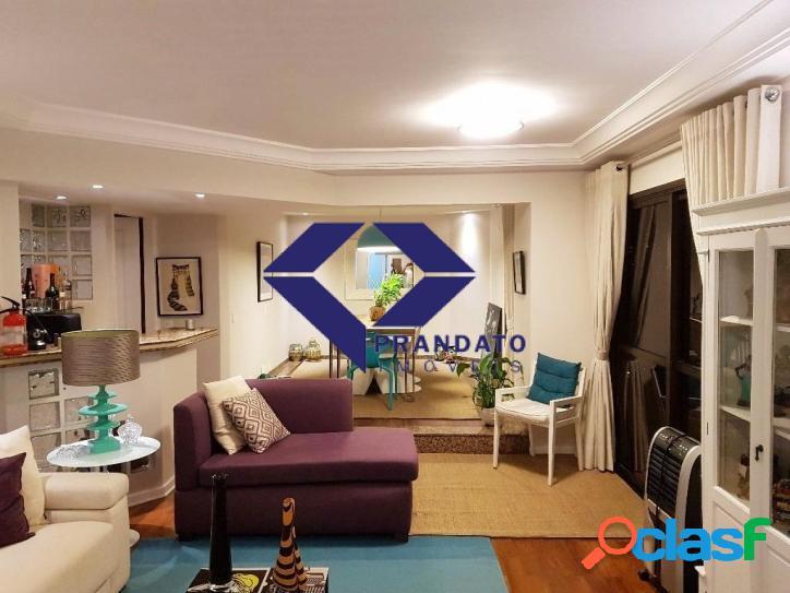 Apartamento à venda campo belo, são paulo 3 quartos, sendo 3 suites.