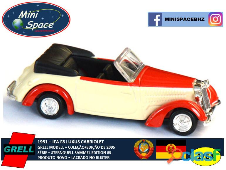Grell Modell 1951 IFA F8 Luxus Cabriolet 1/64