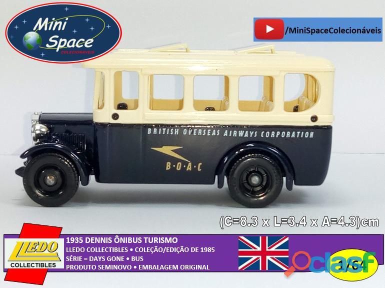 Lledo 1935 dennis ônibus turismo british airways 1/64