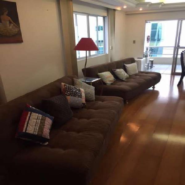 Apartamento duplex mobiliado e decorado centro bc