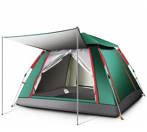 Barraca camping acampamento 4/5 pessoas grande varanda