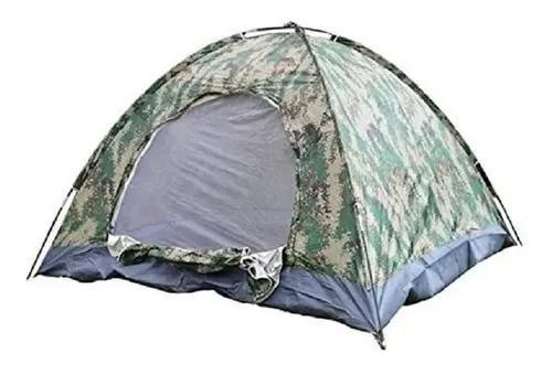 Barraca camping iglu 3 pessoas 2,00x1,50x1,10m 4 cores army