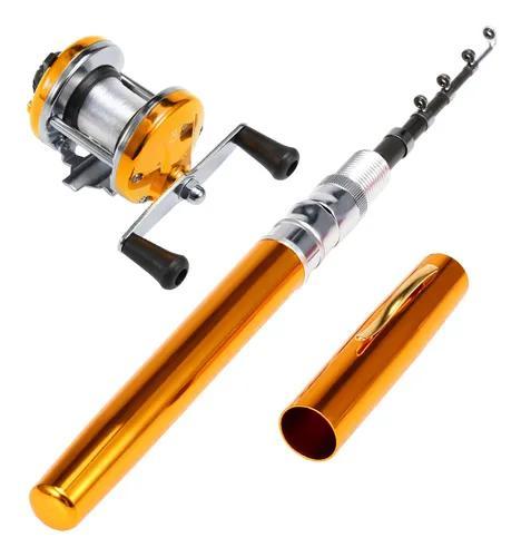Caneta de bolso telescópico caneta vara de pesca combos, do