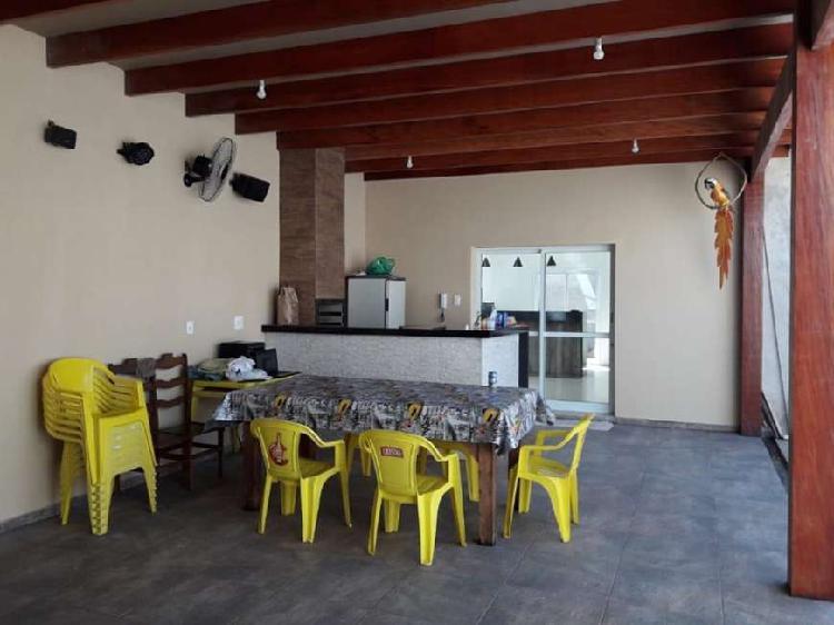 Casa nova e moderna 3 dormitórios 1 suite ampla área