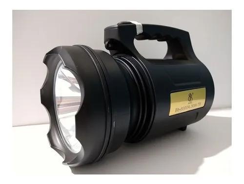 Holofote super potente led recarregável 30w bb 6000a t6