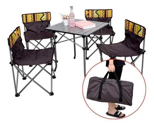 Jogos de mesa e cadeiras dobrável portatil pesca camping