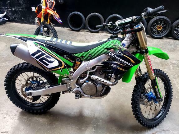 Kawasaki - kx 450 f
