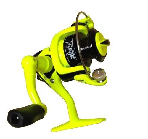 Kit 4 molinetes micro xingu pesca leve ultra light