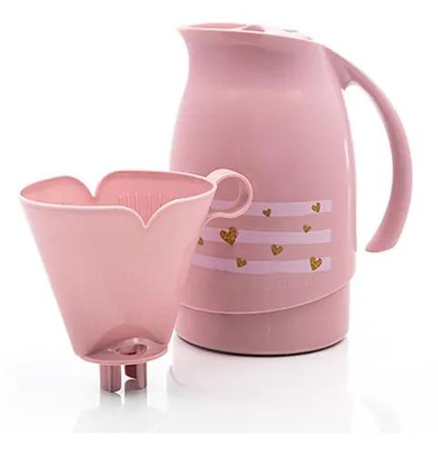 Kit garrafa térmica 700ml e suporte filtro café sanr