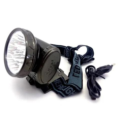 Lanterna de cabeça profissional led cree 22000 lumen