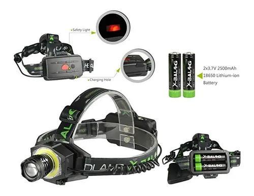 Lanterna de cabeça t6 led tática+3.250.000lumen jy-8843