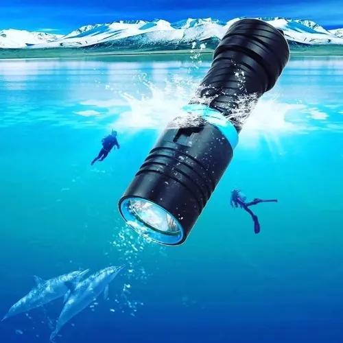 Lanterna de mergulho recarregável 980000w 2980000 lumens t6