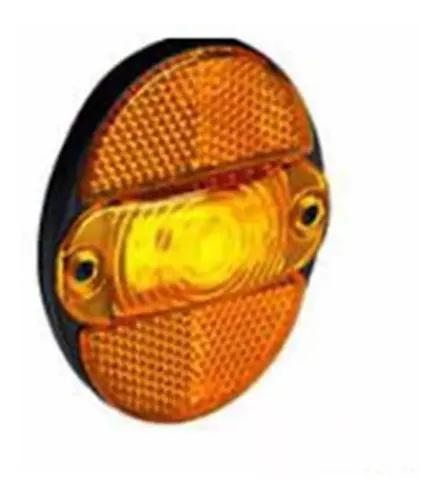 Lanterna lateral led bivolt amarelo gf 7.117 amarela