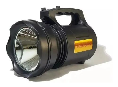 Lanterna led 30w t6 longo alcance 2km recarregável de mão