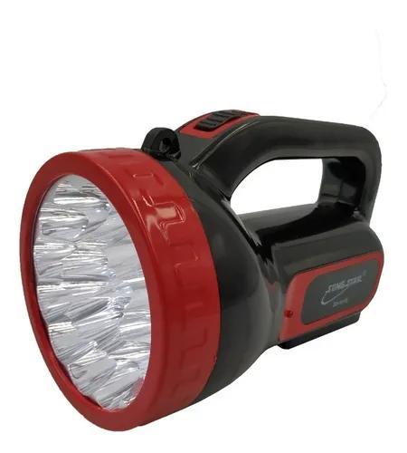 Lanterna longo alcance 18 led bivolt recarregável 2