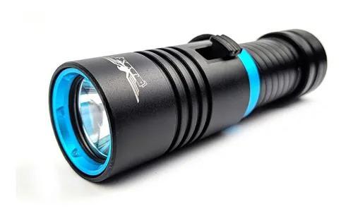 Lanterna mergulho profissional 1800000w led cree t6 jyx