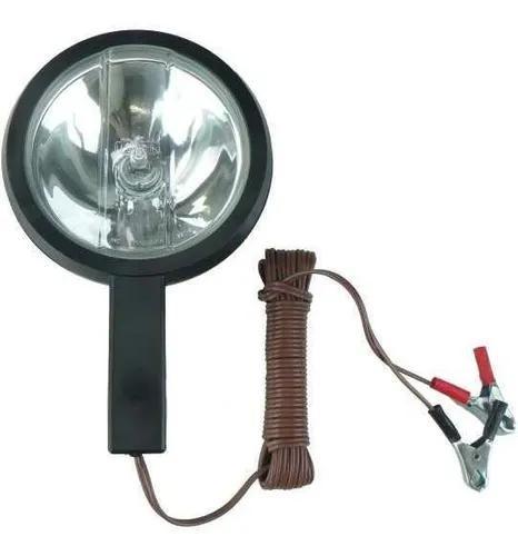Lanterna refletor longo alcançe 12v - capivara com garra