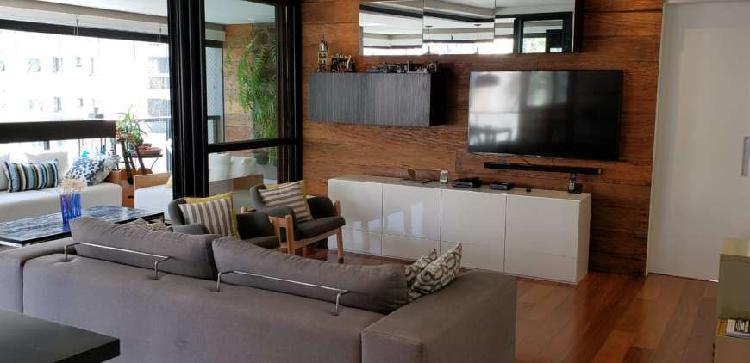 Lindo apartamento em moema com 184 m2; com 4 quartos, amplo