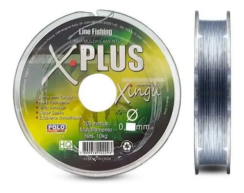 Linha Multifilamento Xingu 0,28mm 35lb/16kg - 100 Metros