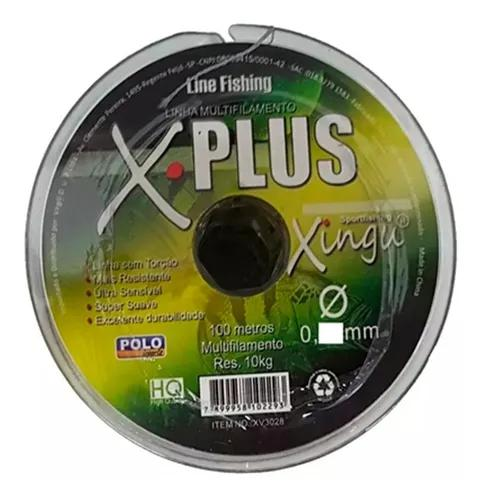 Linha Multifilamento Xingu X Plus 0,28 Mm 35 Lb/16 Kg 100 Mt