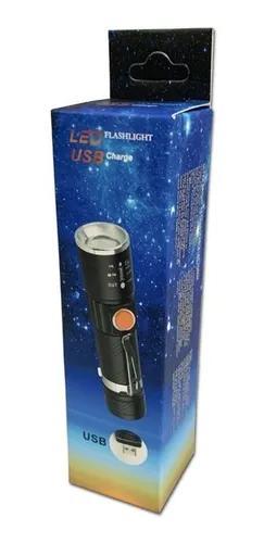 Mini Lanterna Led T6 Recarregá