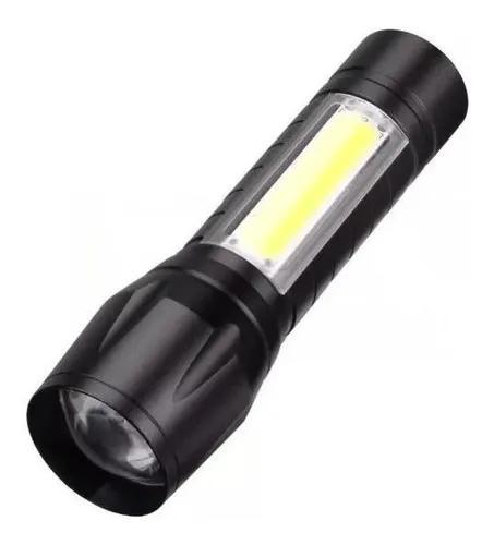 Mini lanterna tática usb potente profissiona forte de bolso