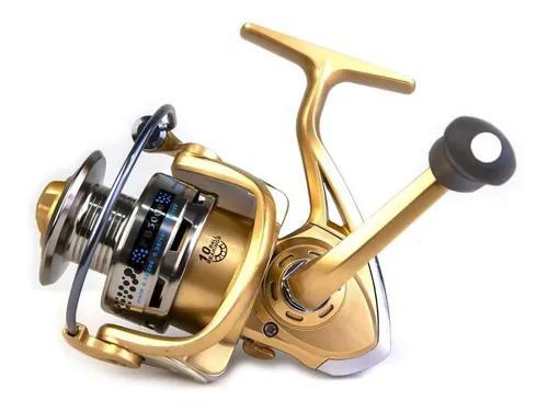 Molinete pesca fanshun fb 4000 10 rol fricção dianteira