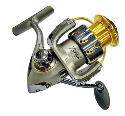 Molinete pescaria leve style 1000 vara ultra light com 6