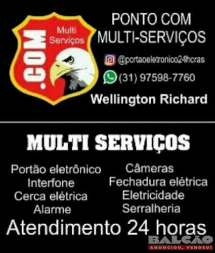Multi serviços atendimento 24 horas