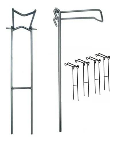 Suporte vara pesca kit 6 unidades molinete/vara de mão