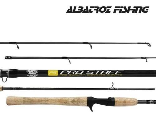 Vara carretilha albatroz pro staff 532 1.60m 20lb 2 partes
