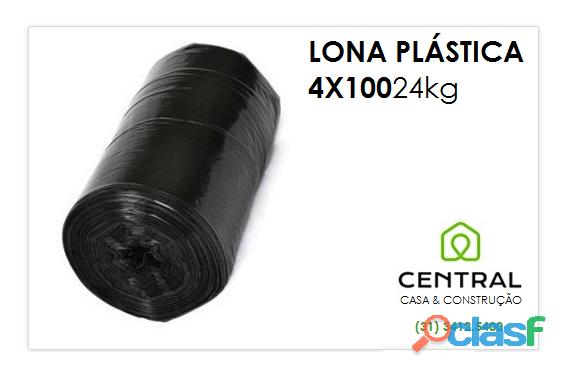 Lona plástica 4m x 100m em bh 31 3412.5400