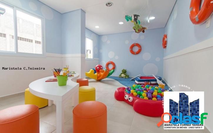 Apartamento 2 dormitórios para venda em santo andré / sp no bairro vila valparaíso