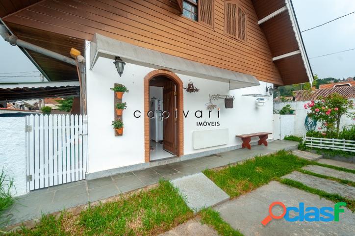Casa com 3 dormitórios na vila nova suiça - campos do jordão