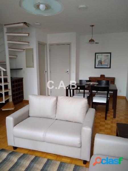 Apartamento mobiliado locação loft