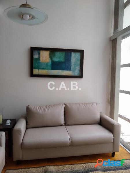 Apartamento mobiliado locação Loft 1