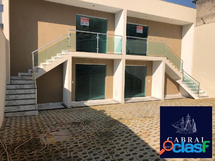 Casa geminada 02 quartos à venda com 80 m² bairro arvoredo ii