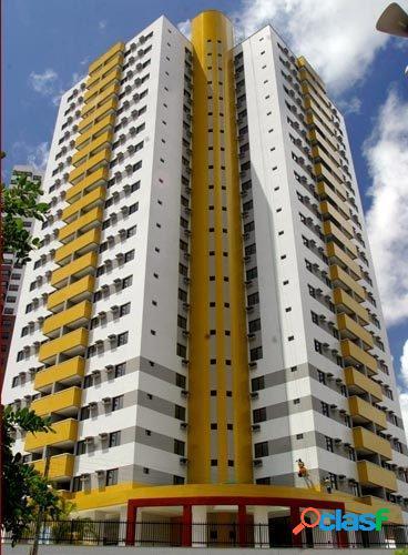 R$ 450.000 excelente apartamento em ponta negra - mirante da praia