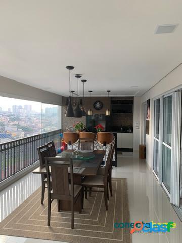 Apartamento de 193 m², 3 suítes e 3 vagas no bosque maia em guarulhos
