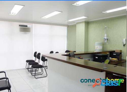Sala comercial de 50 m² e 1 vaga no eixo da avenida paulista