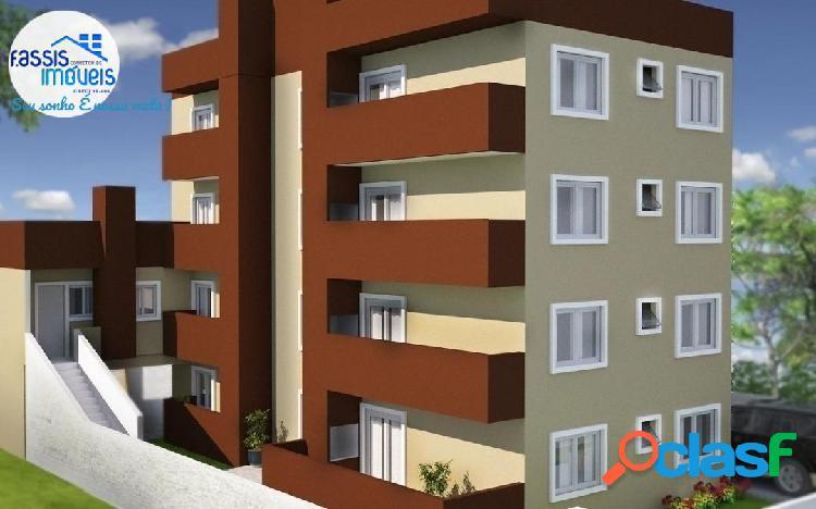 Apartamento novo isolado entrada individual com churrasqueira e sacada