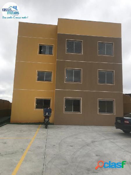 Apartamento novo próximo ao circuito com sacada churrasqueira, garden.