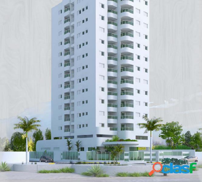 Apartamento de frente pro mar com 2 dormitórios em mongaguá