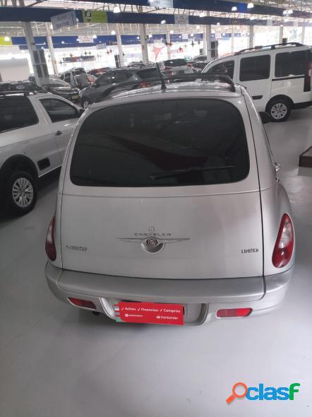 Chrysler pt cruiser limited 2.4 16v 143cv 4p prata 2008 2.4 gasolina