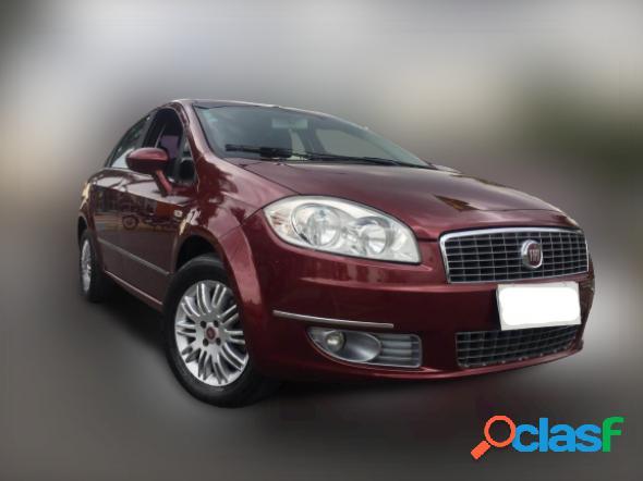 Fiat linea lx 1.9 1.8 flex 16v dualogic 4p vermelho 2010 1.9 flex
