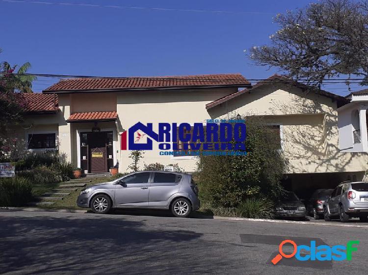 Casa a venda no residencial alphaville 6, santana de parnaíba